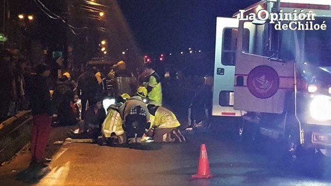 chofer habría atropellado a 2 hermanos en Puente Soto y se dio a la fuga